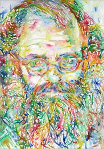 Psychedelic Allen Ginsberg