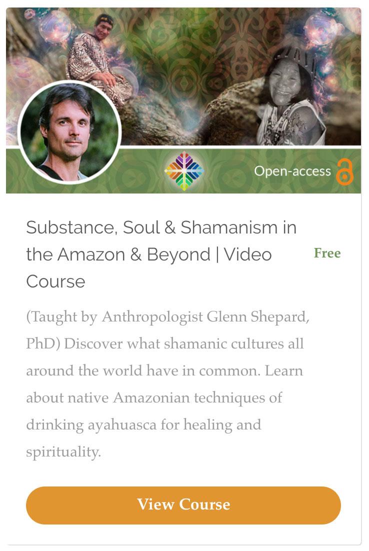 Ayahuasca shaman