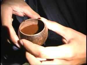 drinking ayahuasca