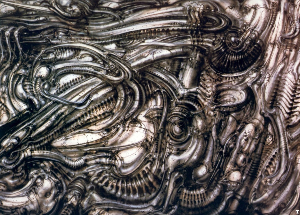 Giger psychedelic