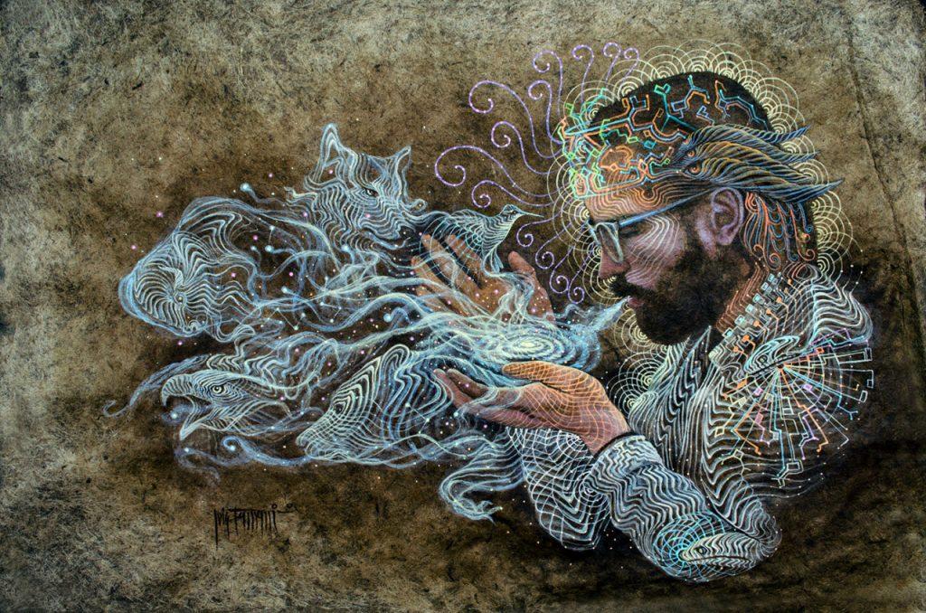 Luis Tamani Ayahuasca Art