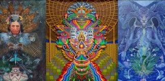 Ayahuasca Visionary Art