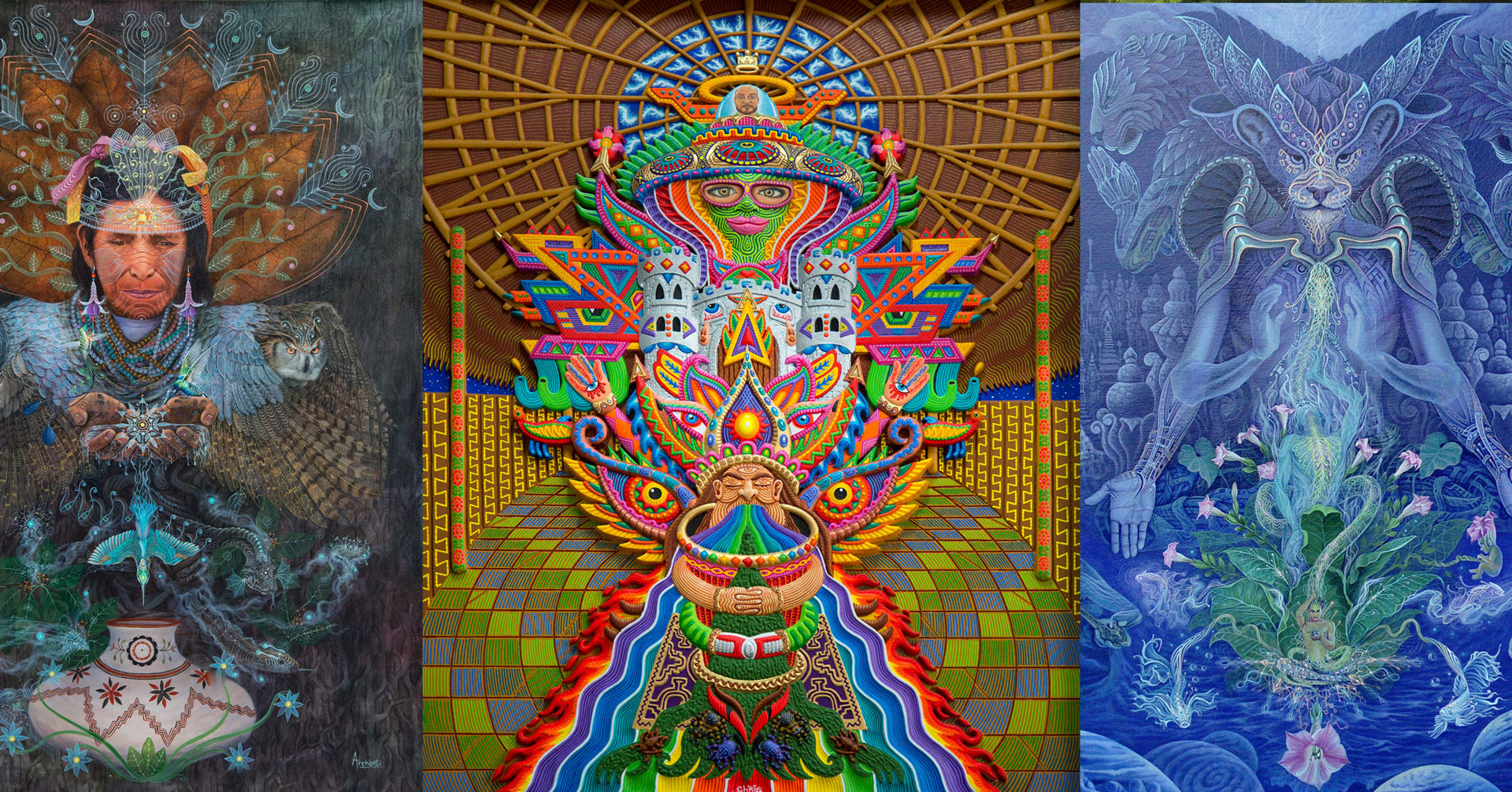 Eleven Otherworldly Visionary and Ayahuasca Artists You